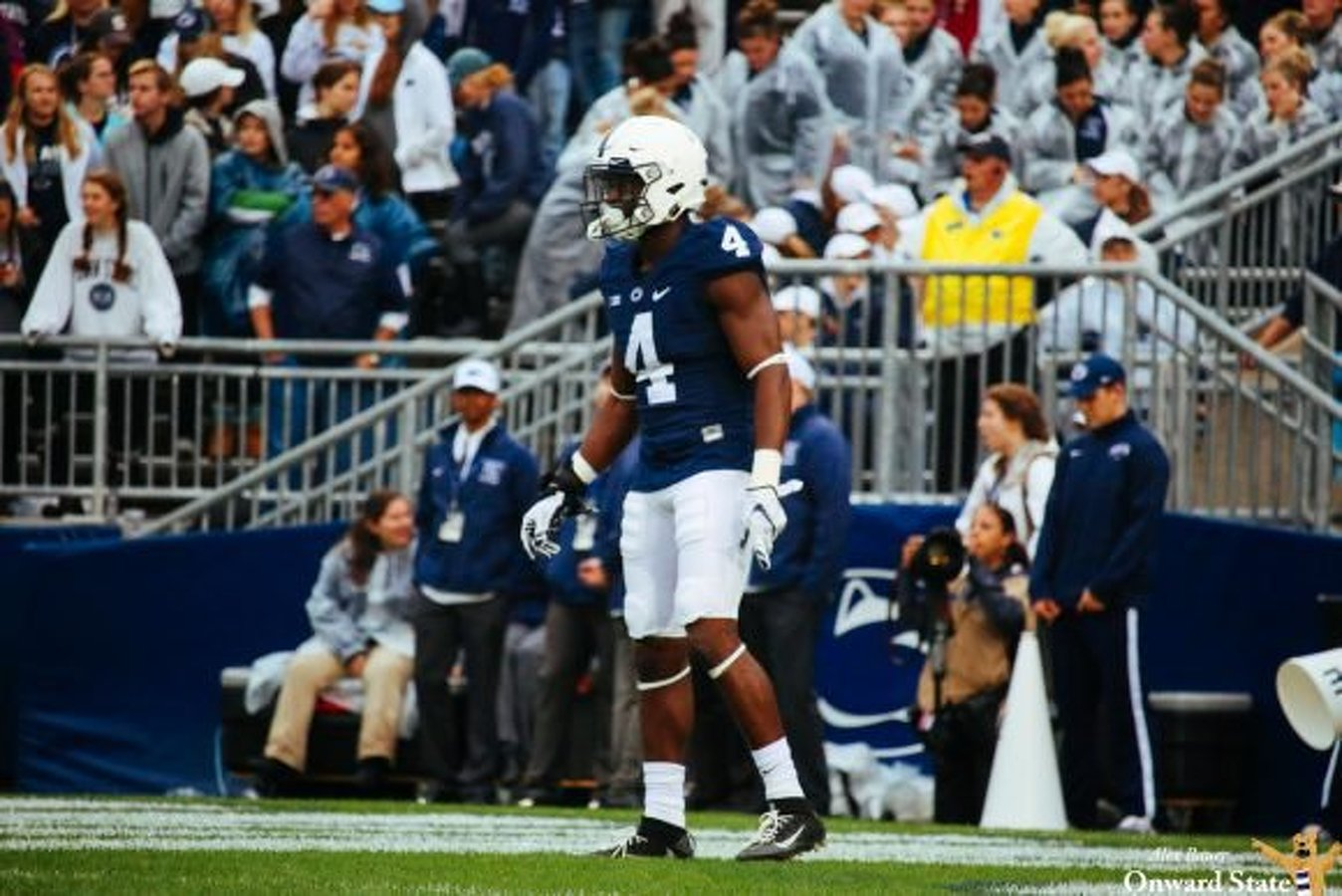 brand new 5d72c ed6a1 State College, PA - Penn State Safety Nick Scott Prepares ...