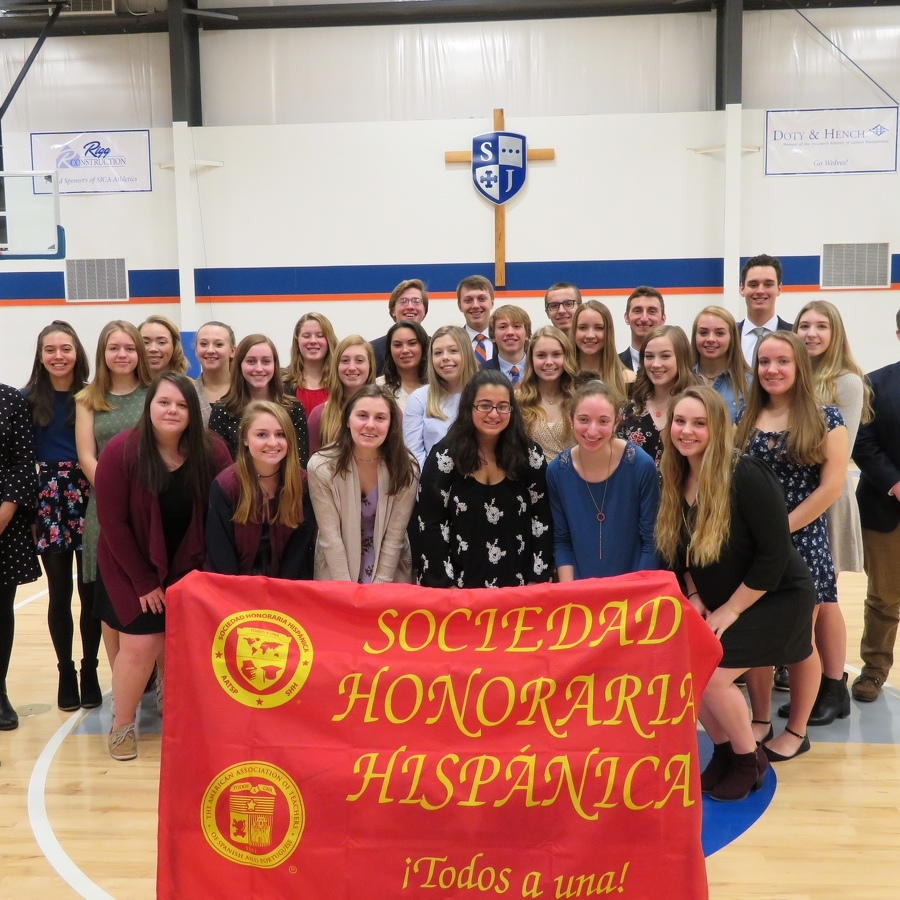 St. Joseph's holds first Spanish Honor Society induction
