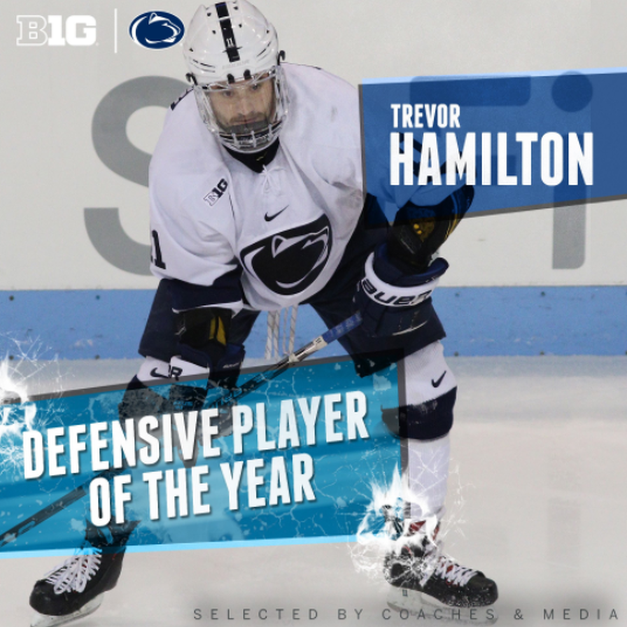 Penn State Hockey: Trevor Hamilton Named Big Ten Defensive Player of the Year