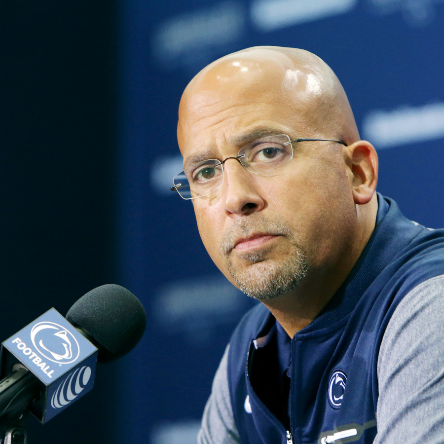 James Franklin Gives Intense Lecture as Part of Sports Business Conference