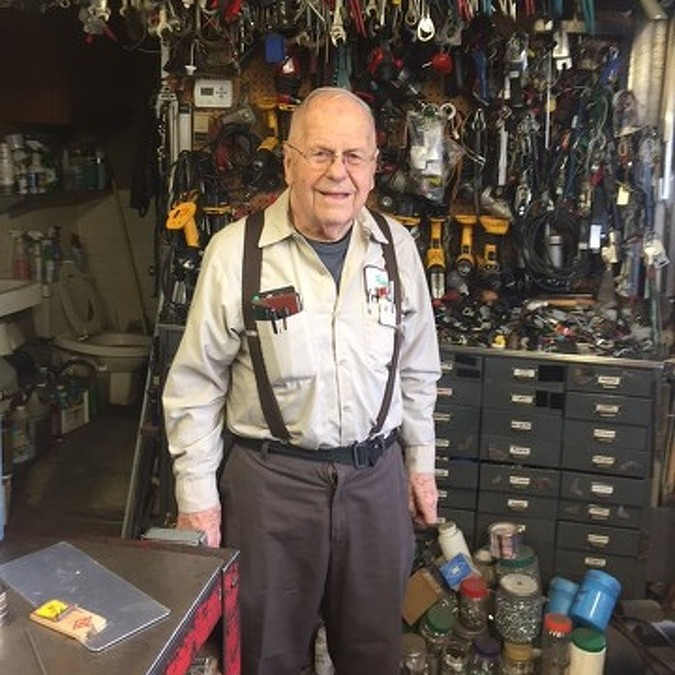 At 86, Duck's Sheet Metal Owner Still Working to Make Customers Happy