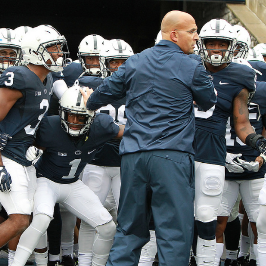 Penn State Football: McGovern Confident Line Will Continue To Take Strides