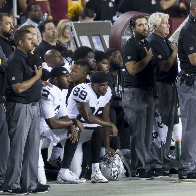 NFL Players' Message Is Getting Lost in the Debate Over Protests