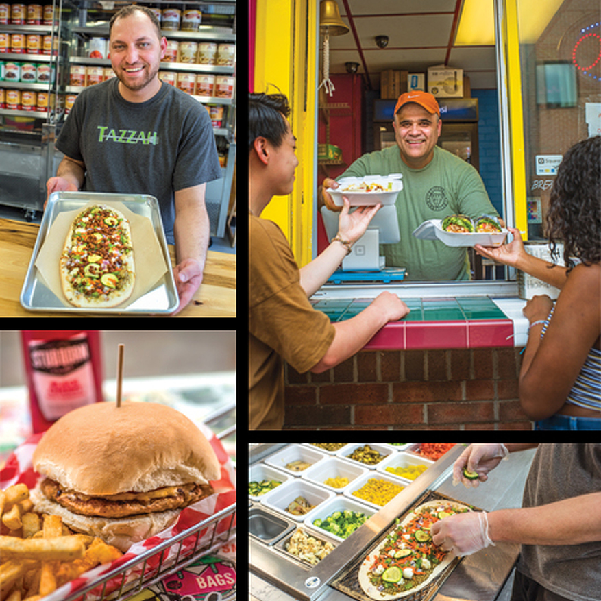 Taste of the Month: Yallah Food's Fast-Casual Restaurants Offer an Array of Choices in Downtown State College