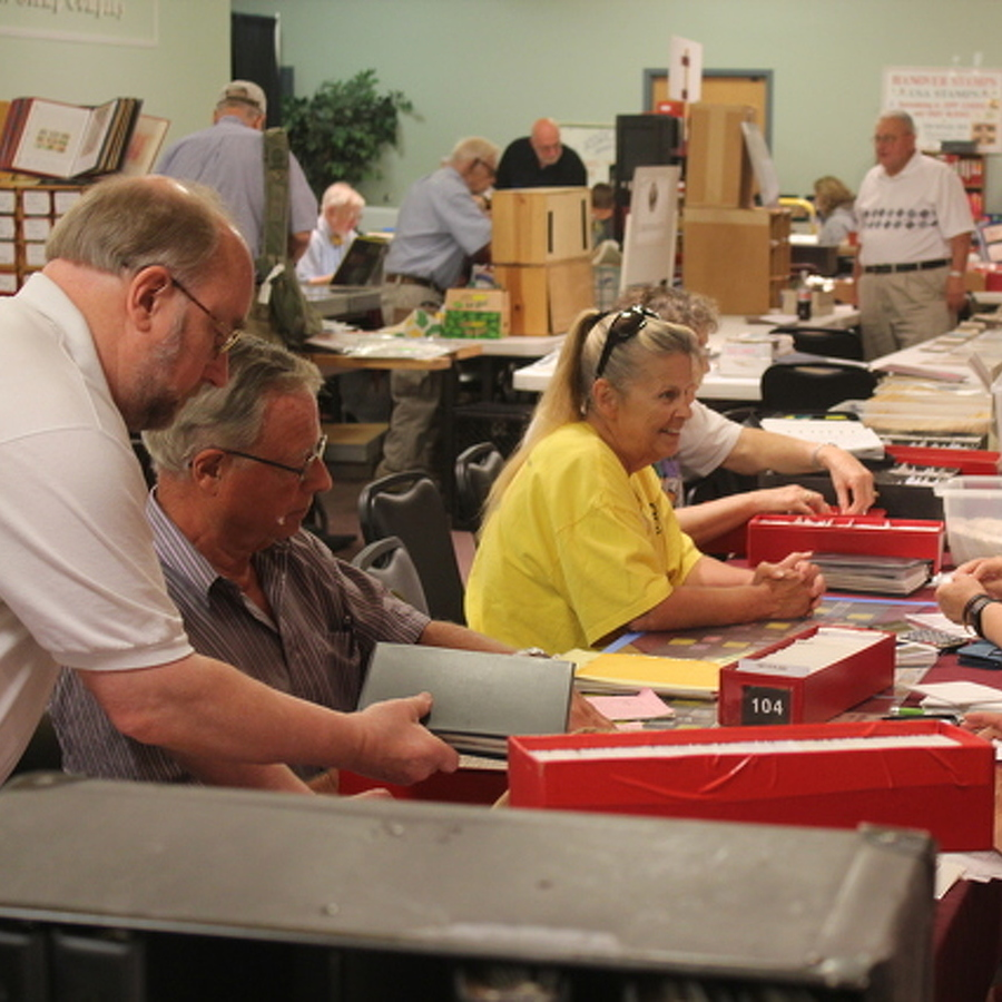 Stamp Collectors to Gather in Bellefonte