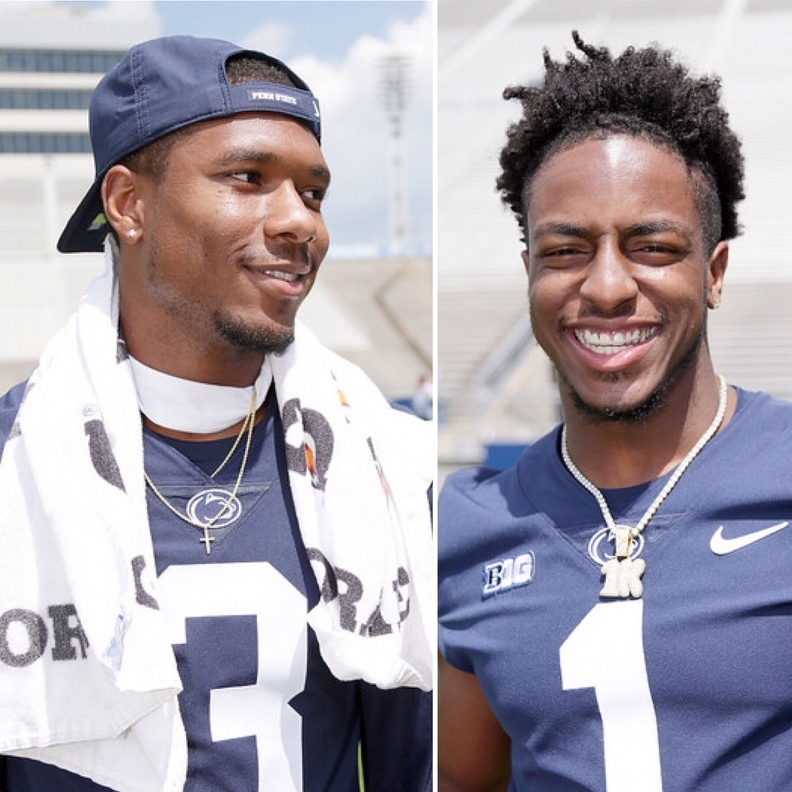 Penn State's Odd Couple: KJ May be a PIA, but Thompkins Likes Him Anyway