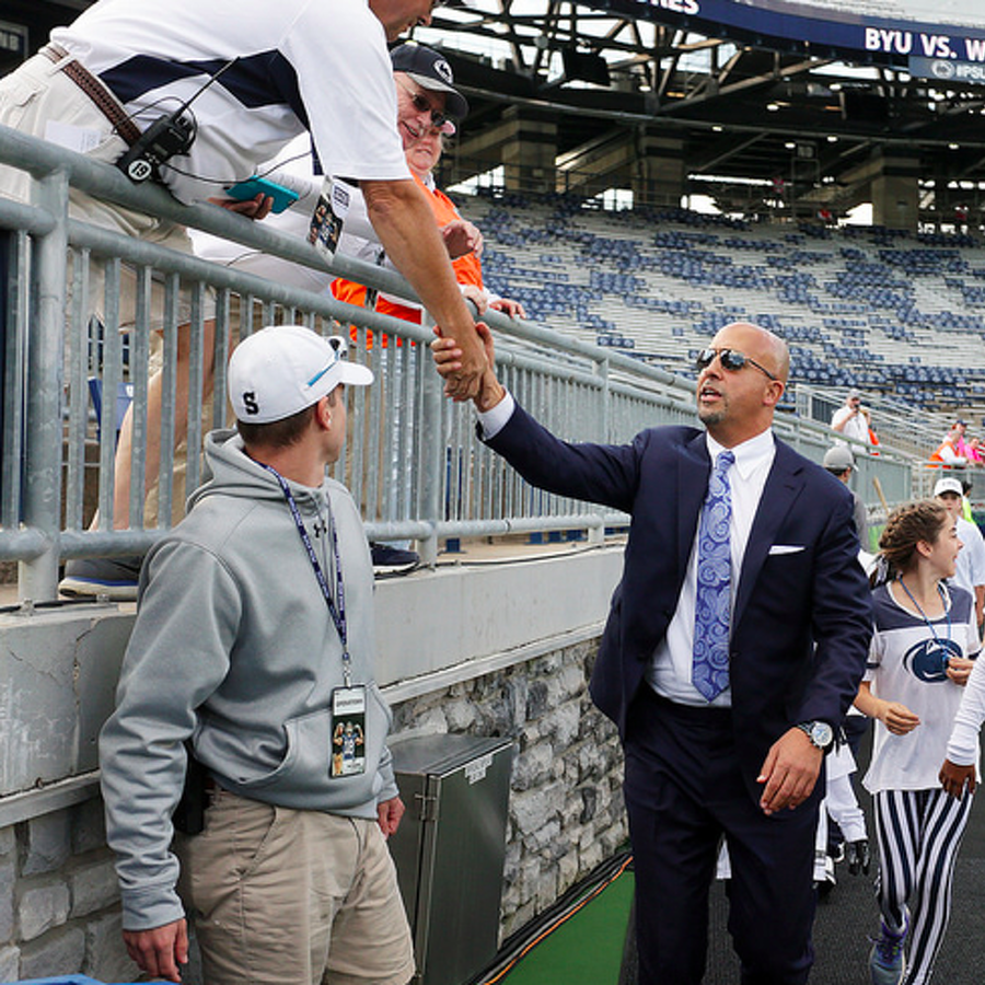 Penn State Football: For Franklin, Fixing Wideout Consistency Issues Comes Down To Everyone