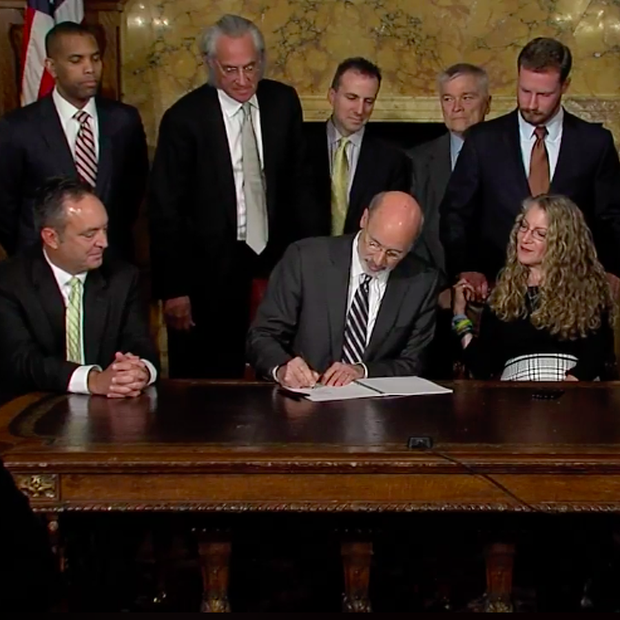 Gov. Wolf Signs Timothy Piazza Antihazing Law
