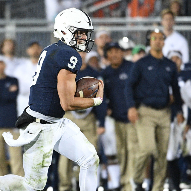 Penn State Football: Franklin Hits 100 vs. Iowa and McSorley Isn't Far Behind