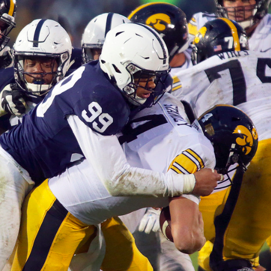 Penn State Football: Gross-Matos And Oruwariye Land All-Big Ten Honors