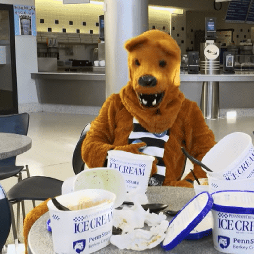 Nittany Lion Left 'Home Alone' in Annual Penn State Holiday Greeting