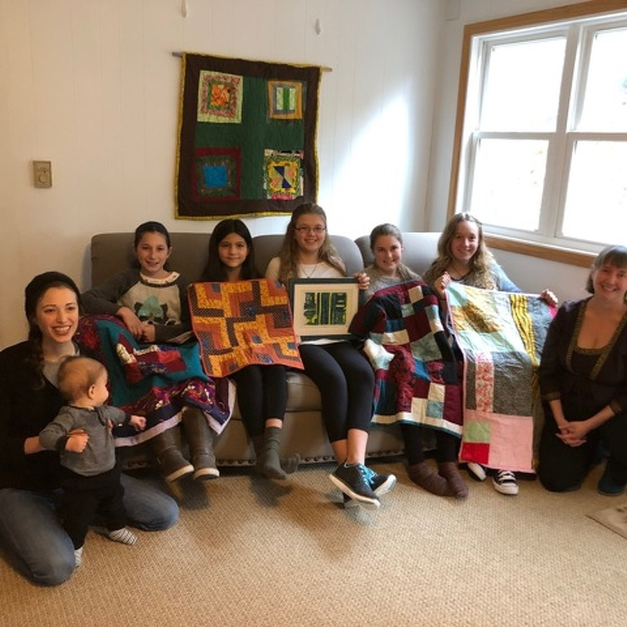 Quilts and Prints at Schlow: Young People Respond to Gee's Bend Art