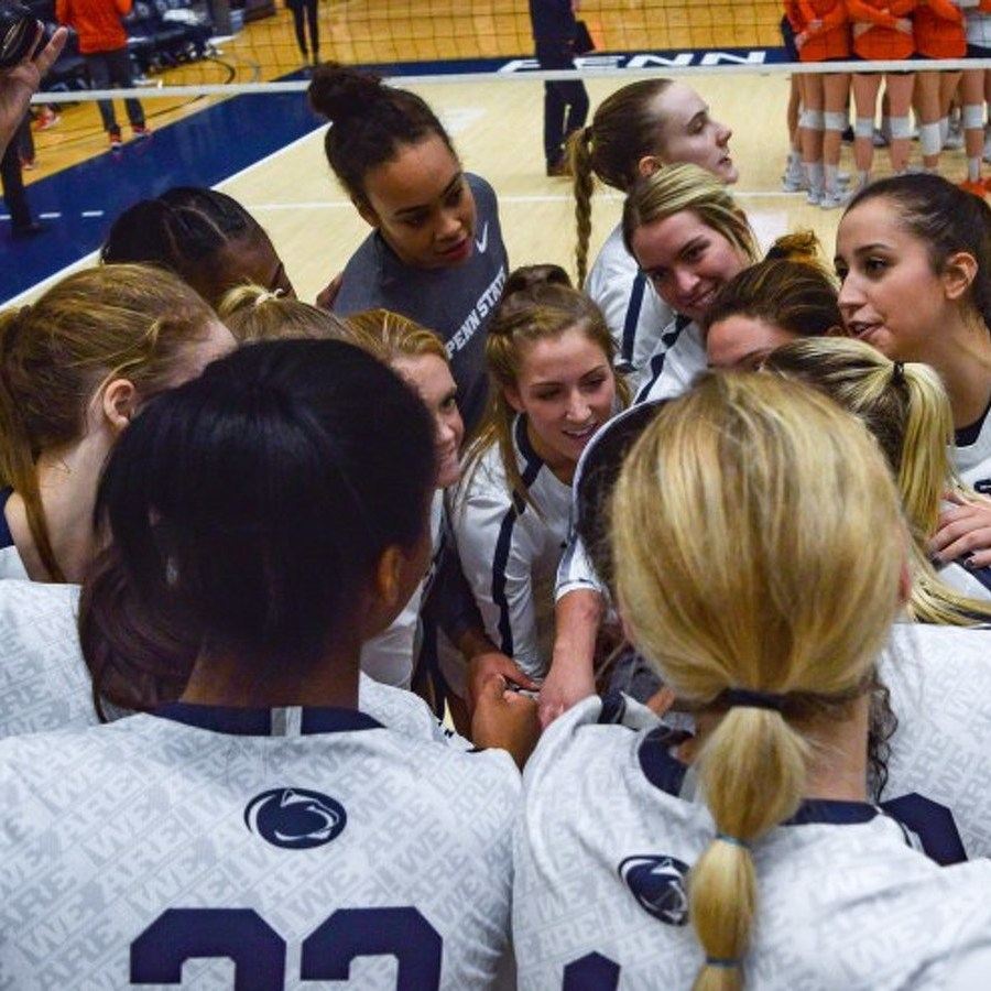 Penn State Women's Volleyball Sweeps Washington to Reach NCAA Quarterfinals