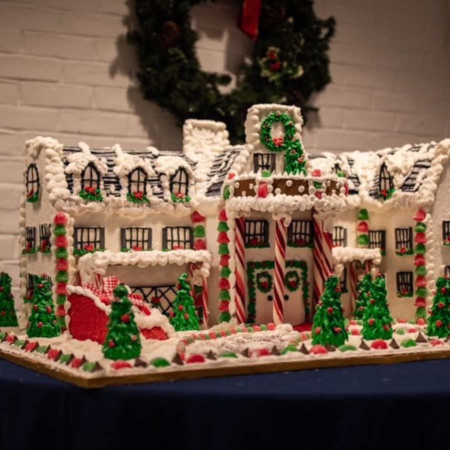 Penn State Bakery's Annual Gingerbread Palace Brings Sweetness to Nittany Lion Inn