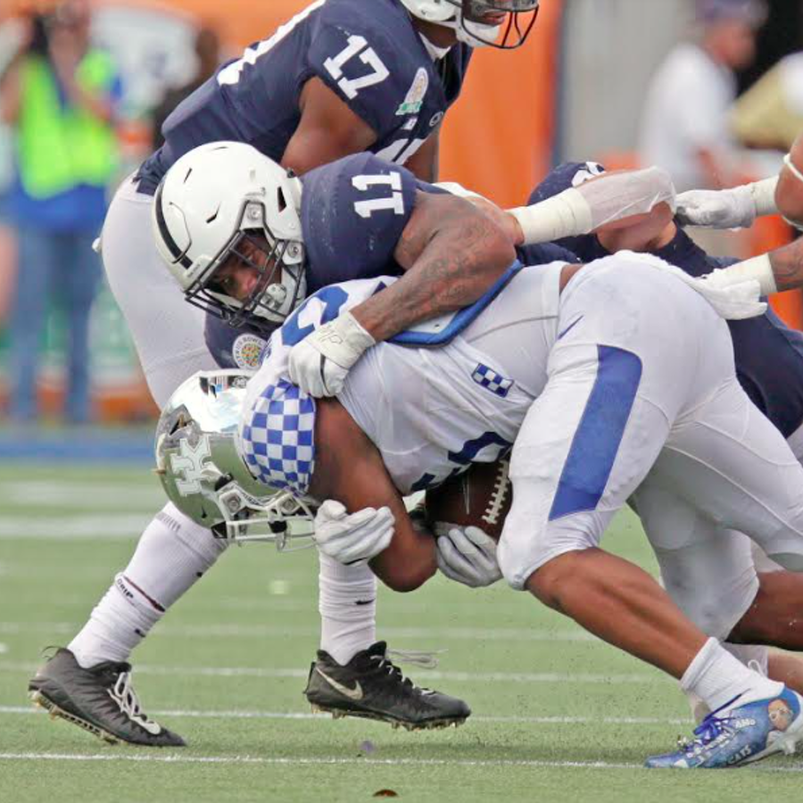 Penn State Football: Handing Out The Grades Following A 27-24 Loss To Kentucky