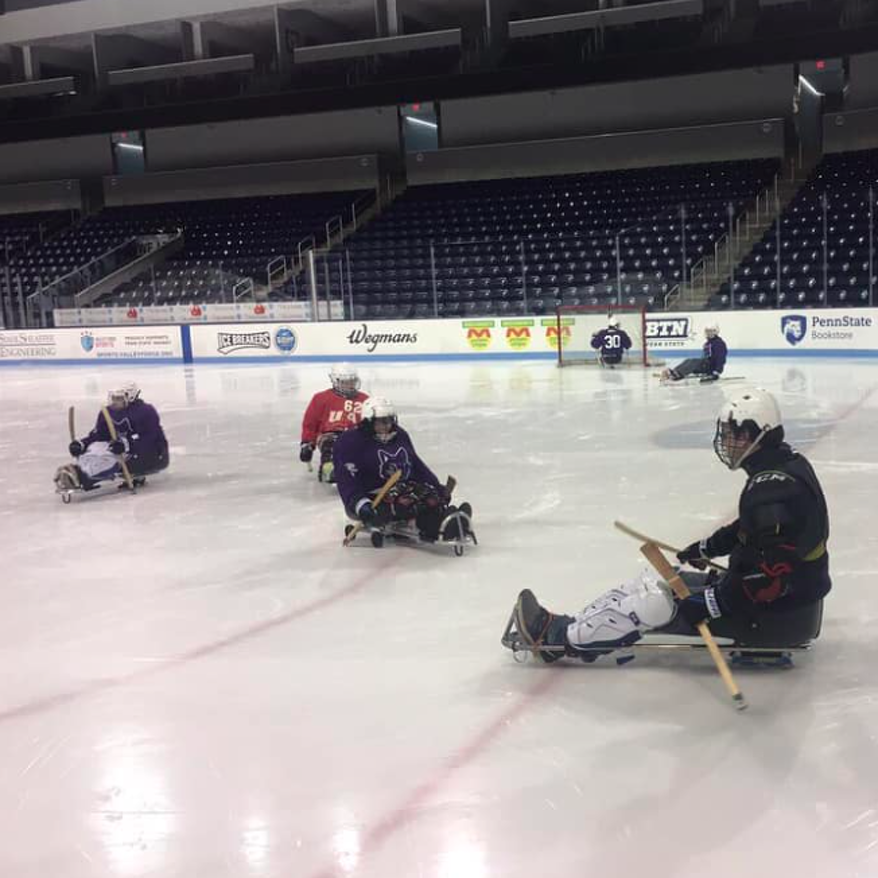 There Is Plenty Special About Sled Hockey