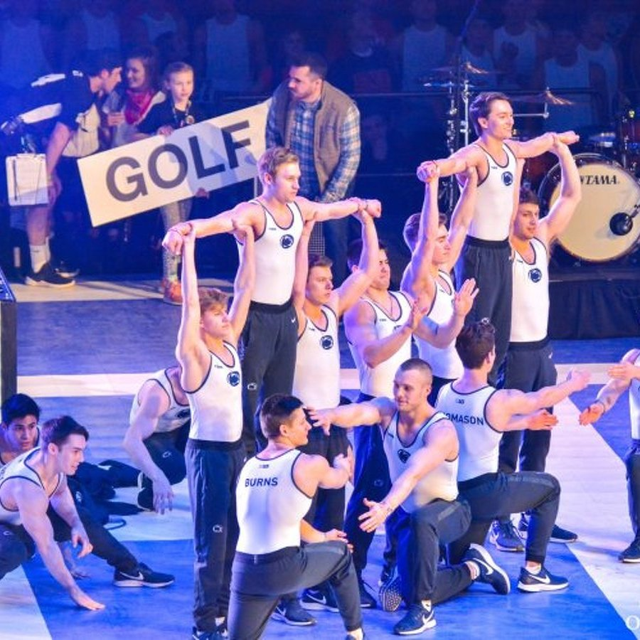 Penn State Men's Gymnastics Wins THON Pep Rally for Third Consecutive Year