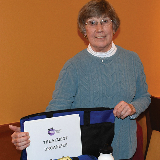 Snapshot: As leader of the Cancer Survivors Association, Linda Lochbaum is bringing awareness to the cause