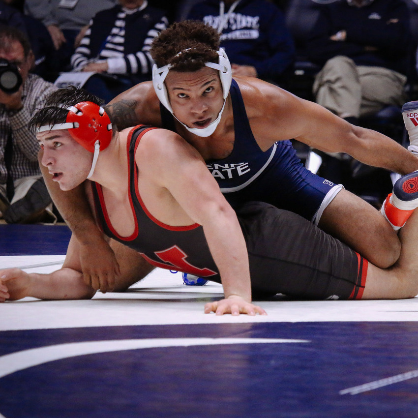 Penn State Wrestlers Ready for Big Ten Championships