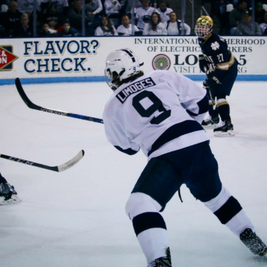 Penn State Hockey: Limoges Having Fun, Setting Records And Chasing History