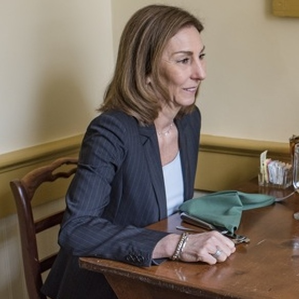 Lunch with Mimi: Kathleen L. Rhine, President and CEO of Mount Nittany Health