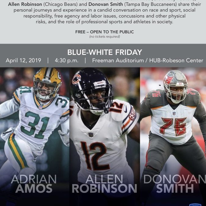 Penn State's Supa Six: Amos, Smith & Robinson Return for Panel on Blue-White Friday