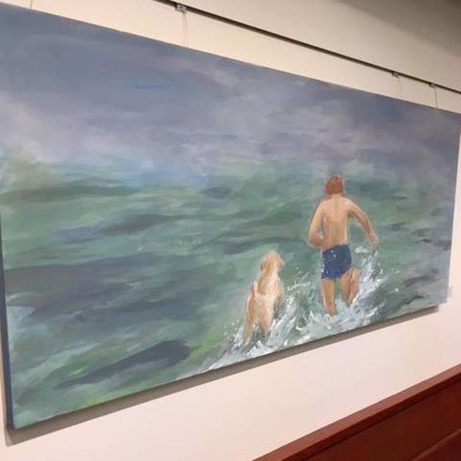 Schlow Library Exhibit Features Mixed Media Work by State College Artist
