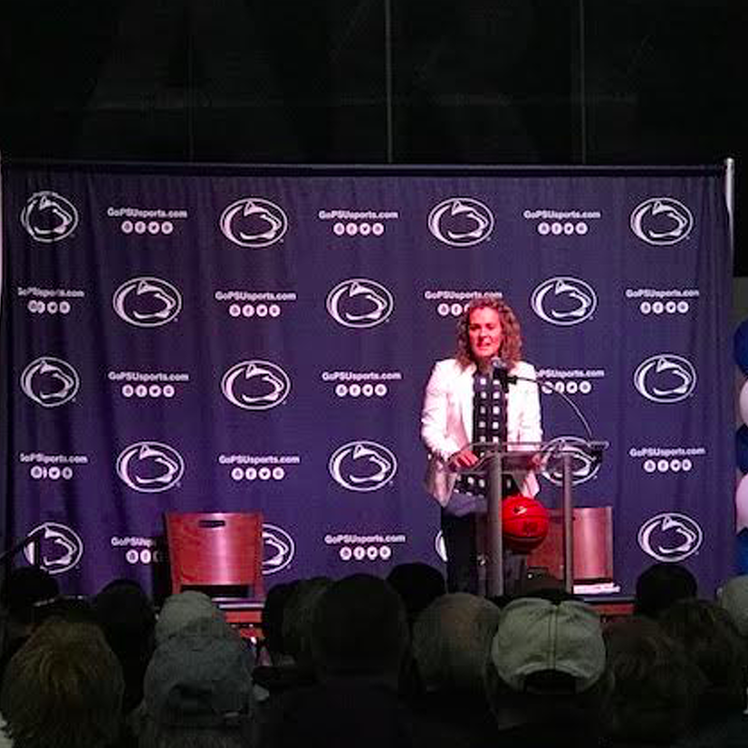 Penn State Women's Basketball Introduces Carolyn Kieger