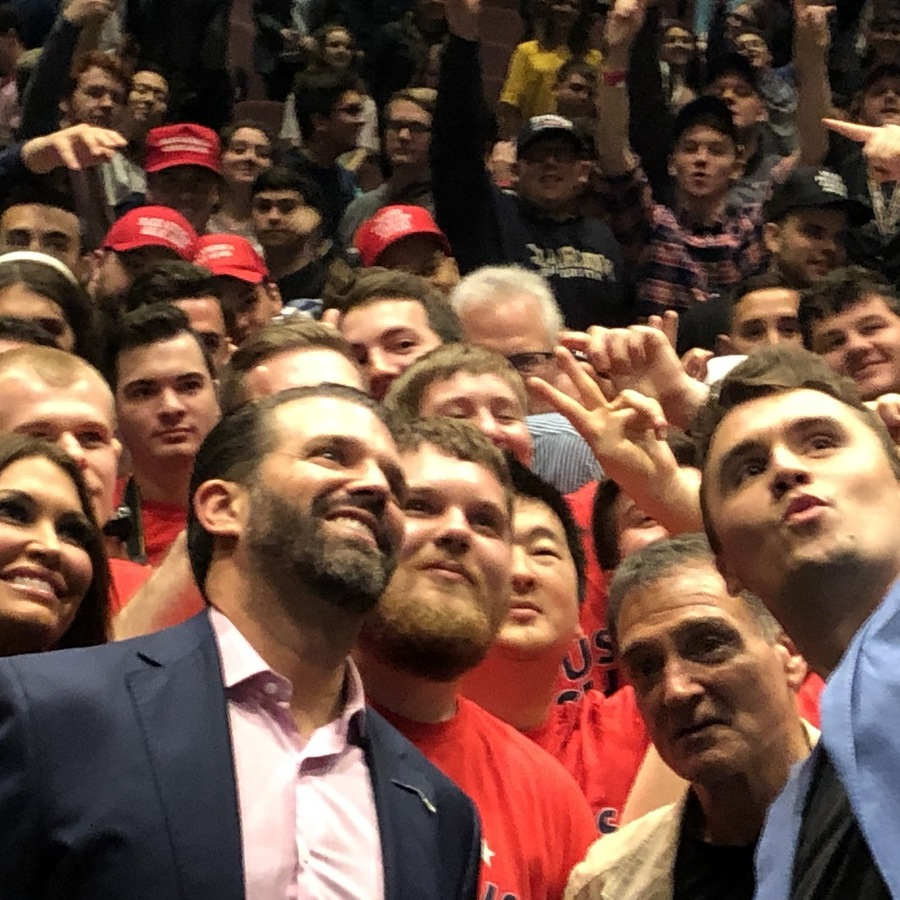 'Campus Clash' Brings Trump Jr., Guilfoyle and Kirk to Penn State