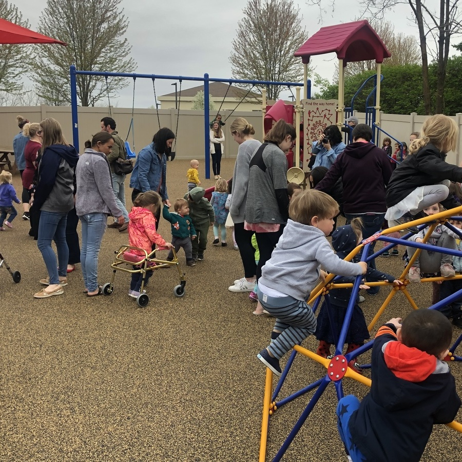 Easterseals Opens New Playground for Children of All Abilities