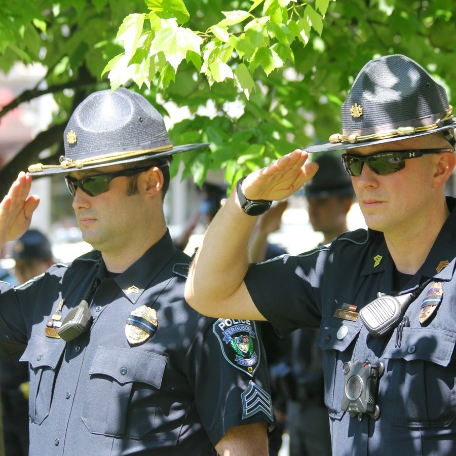 Centre County Ceremony Honors Fallen Officers