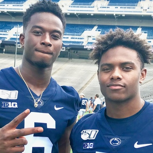 Penn State Football WR Q&A: Four Downs with Jahan Dotson & Justin Shorter
