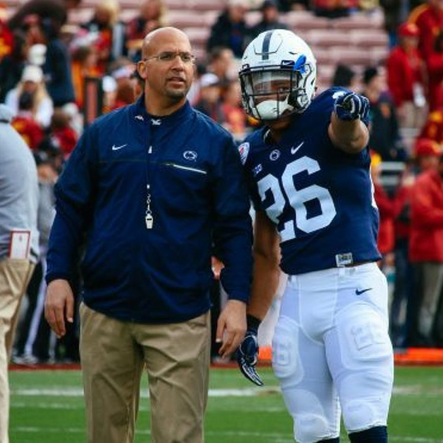 Saquon Barkley Defends James Franklin Amid Lawsuit Filed by Former Team Doctor