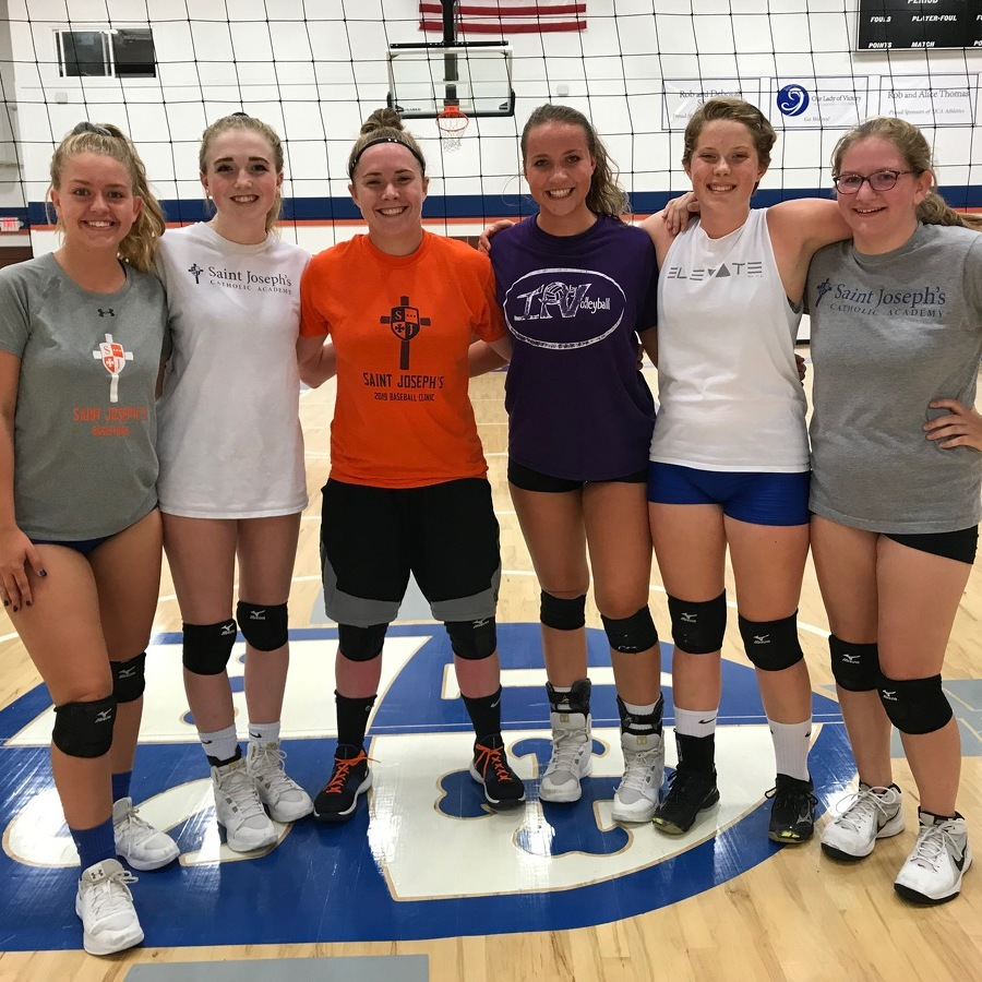 Saint Joe's Girls Volleyball Working with Small Roster in 2019