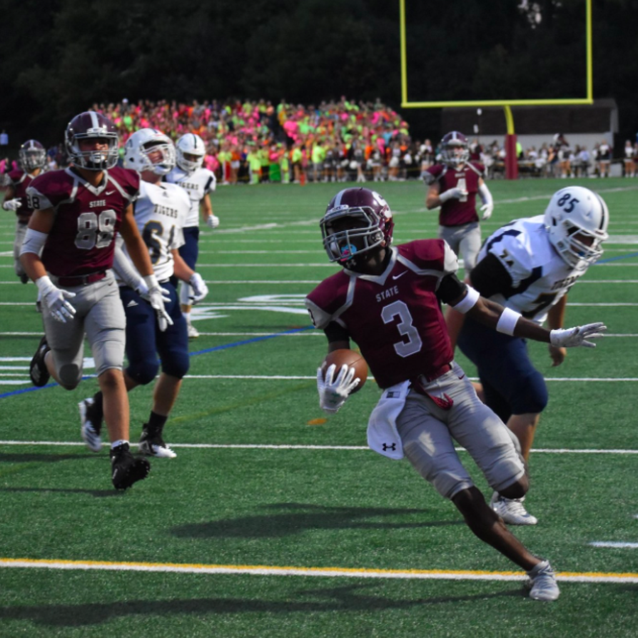 State College Rolls Past Hollidaysburg 42-7