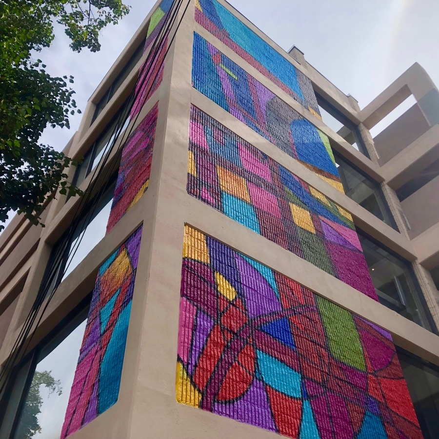 New Mural Brings a Colorful Addition to Downtown State College