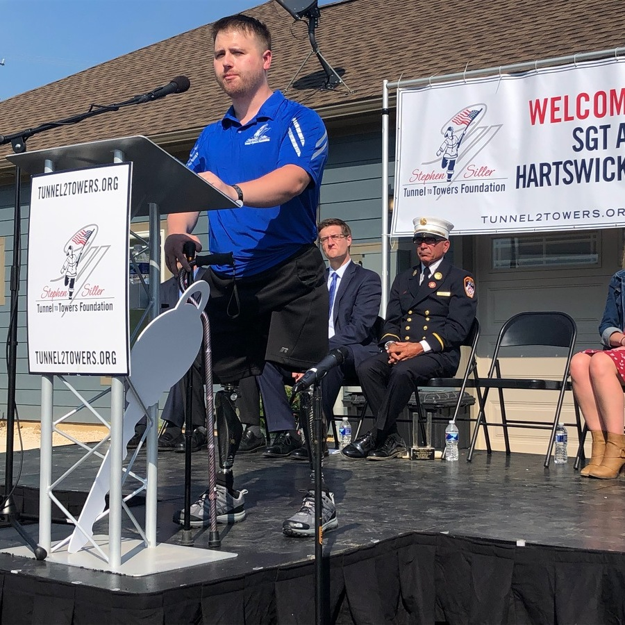 Nonprofit Provides Smart Home to Local Army Veteran Hartswick