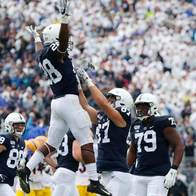 Penn State Holds Steady At No. 13 In Latest AP Poll