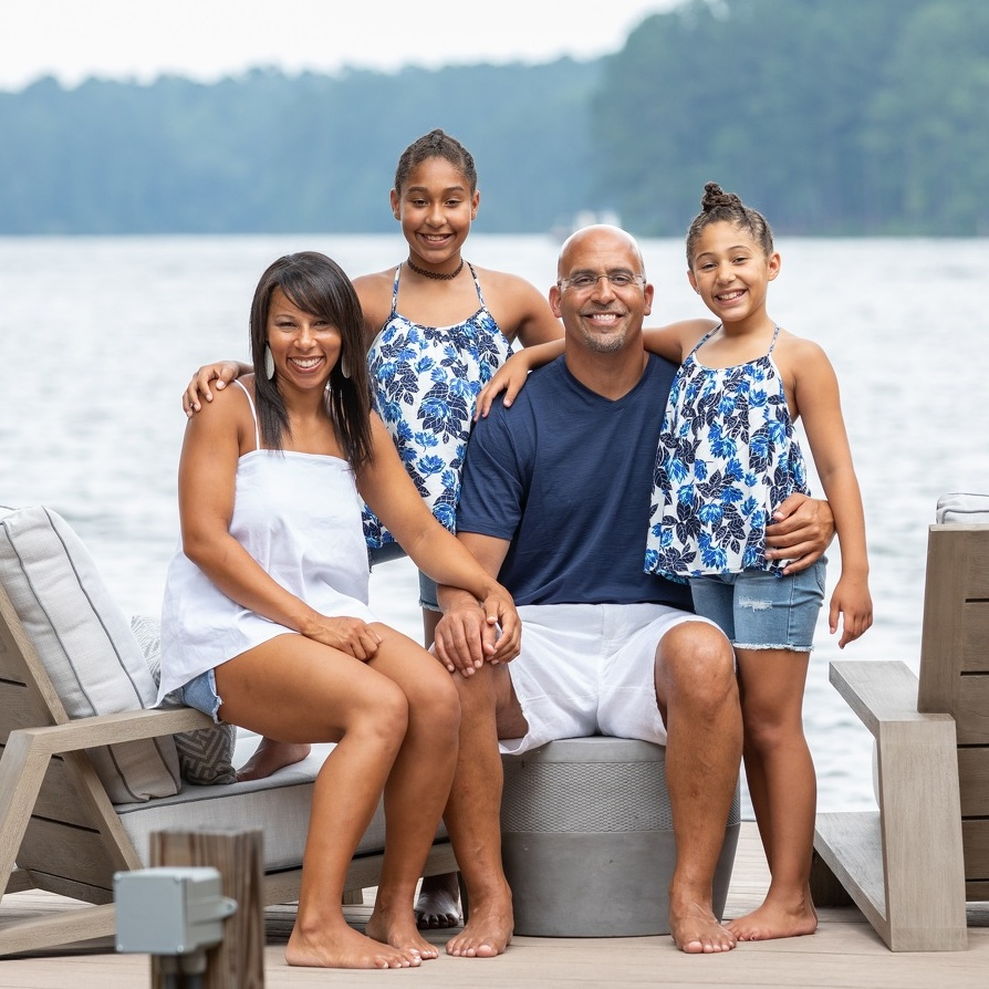 Family Values: Football and community are family affairs for Renaissance Fund honoree James Franklin, his wife, Fumi, and their daughters