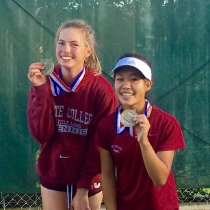 State College's Janac and Guo Win Doubles Gold