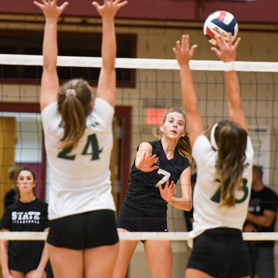 State College, BEA Girls' Volleyball Clinch Conference Titles