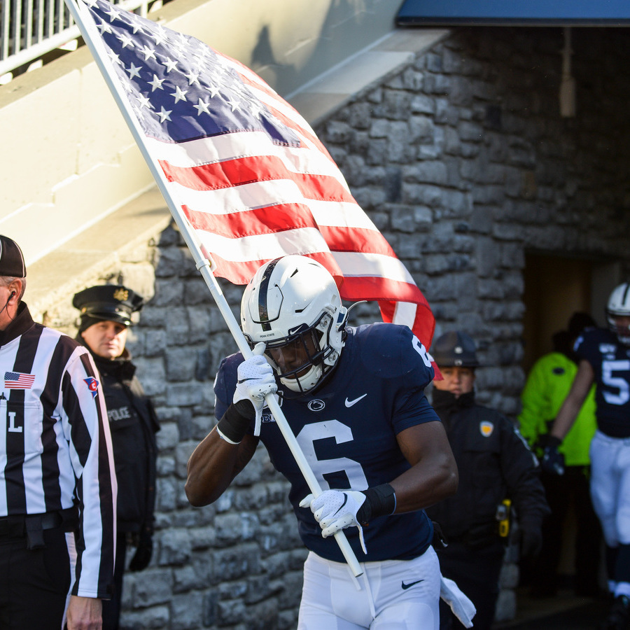 Military Member Surprises Family During Special Presentation at Beaver Stadium