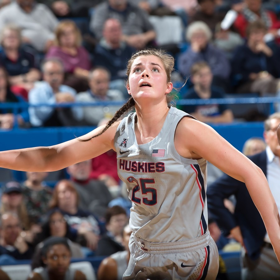 State High Alum Kyla Irwin Finds Her Niche as a UConn Huskie