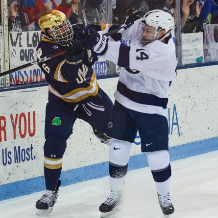 Penn State Hockey: Nittany Lions Split At Notre Dame Following 3-0 Loss