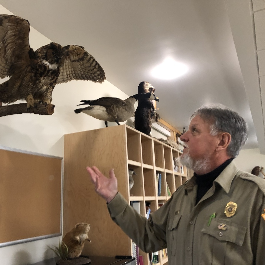 Environmental Learning Center, Office Building Opened at Bald Eagle State Park