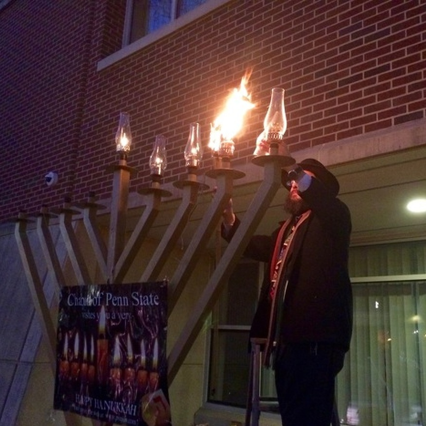 Large Turnout Expected for Menorah Lighting in State College