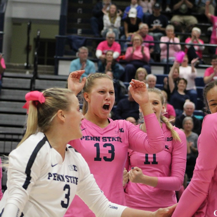 Five Penn State Women's Volleyball Players Named All-Americans