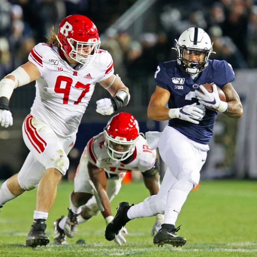 Penn State Football: Ricky Slade Is Keeping the Faith