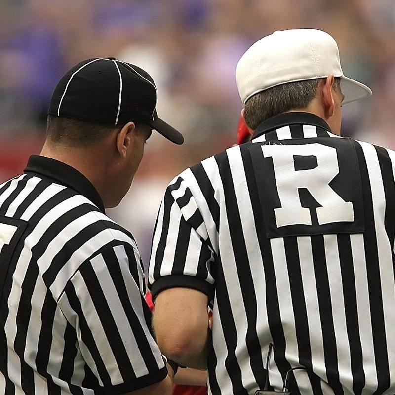 A Fan's New Year's Resolution: Take It Easy on the Refs