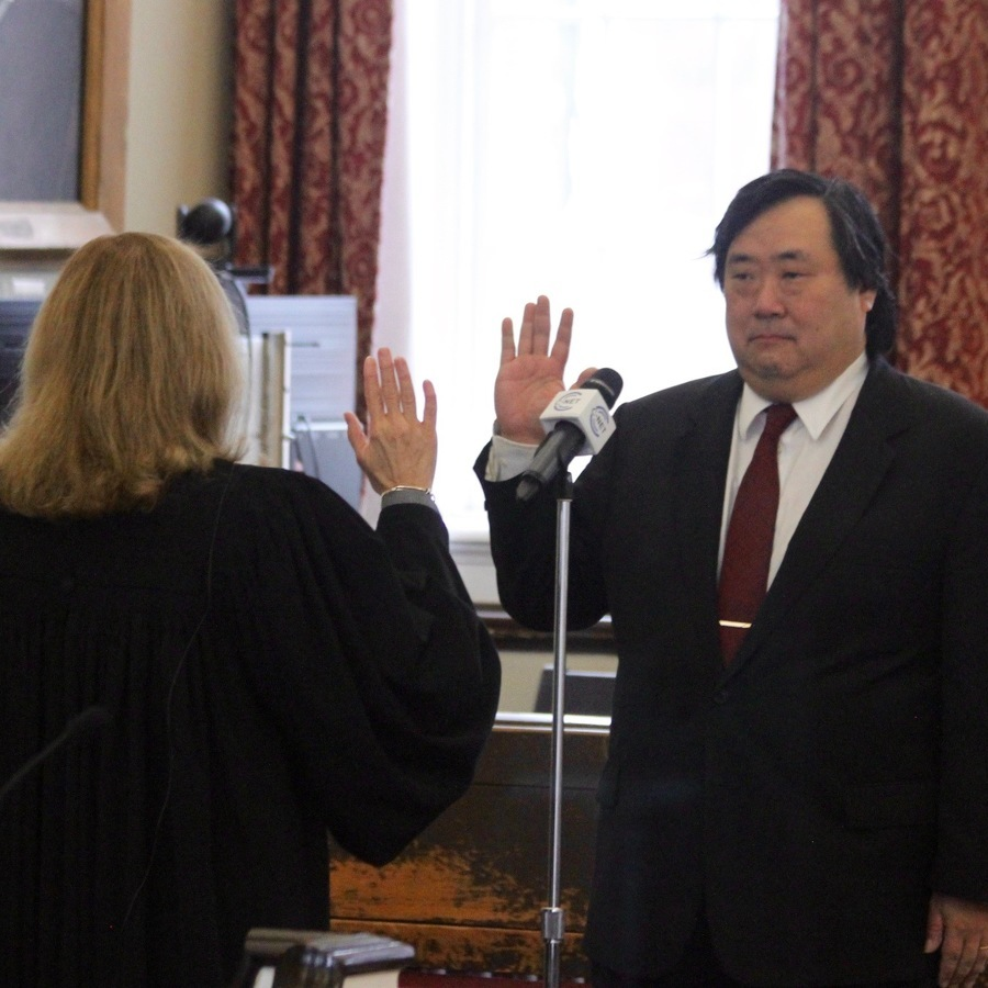 Centre County Officials, Judges Sworn In